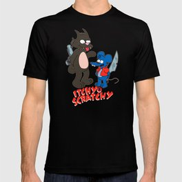 Itchy and Scratchy - Simpsons T-shirt