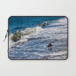 Waves vs Coconut Laptop Sleeve