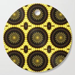 Sunflower Manipulation Grid 2 Cutting Board