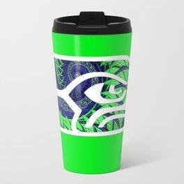 SeaHawks Fractal Travel Mug