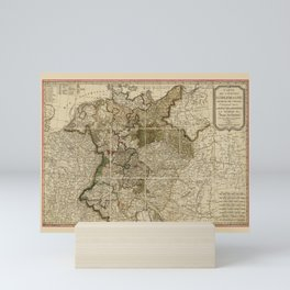 Map of Germany (1800) Mini Art Print