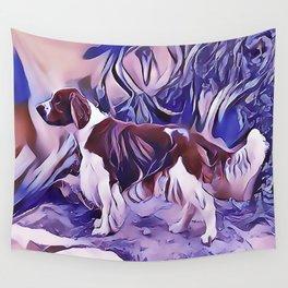 Welsh Springer Spaniel Wall Tapestry