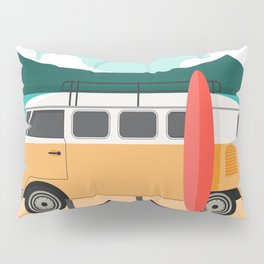 Road Trip on Van Pillow Sham