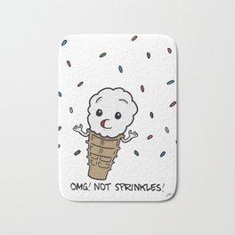 Ice Cream Fears Bath Mat