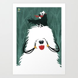 Forest Shepherd Art Print