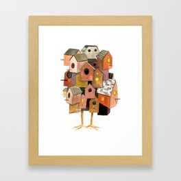 The Bird House Framed Art Print