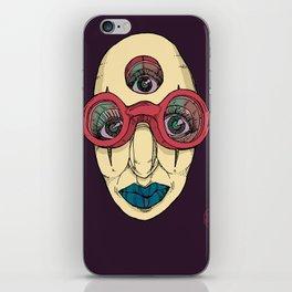 SEEK DEEP WITHIN iPhone Skin