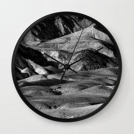 Driving across the Judean Desert Wall Clock