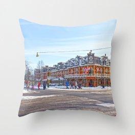 Niagara on the Lake Throw Pillow