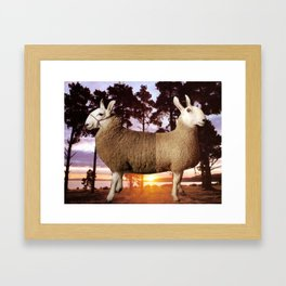 A Pushmi-pullyu Framed Art Print