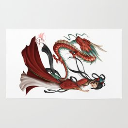 Chinese dragon pure Rug