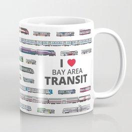 The Transit of the Bay Area Coffee Mug