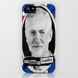 Jez Save The Country! iPhone Case