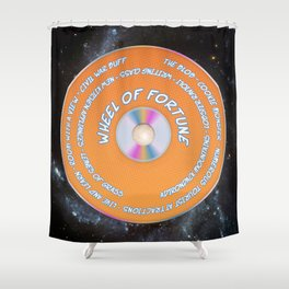 Game Grumps Wheel of Fortune Shower Curtain