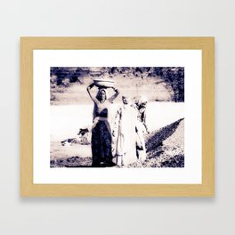 construction workers #5 Framed Art Print