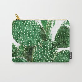 Velvet Cactus Carry-All Pouch