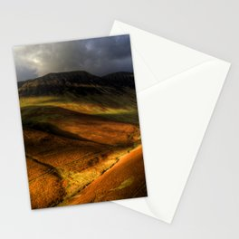 Landscape Shadows Stationery Cards