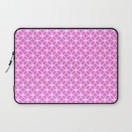 Trellis_Pink Laptop Sleeve