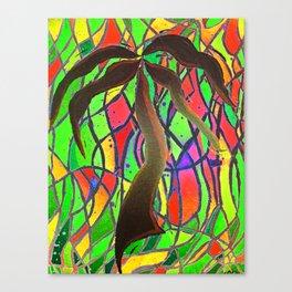 Party Palm  Canvas Print