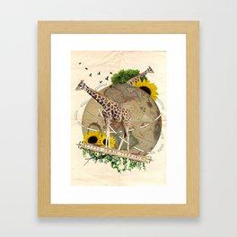 「Travel」 Framed Art Print