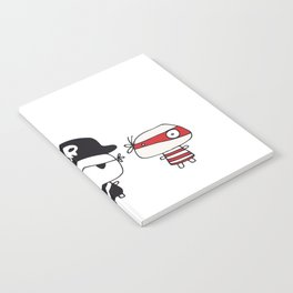 Three Pirates Notebook