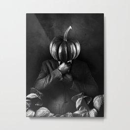 horseless headless businessman Metal Print