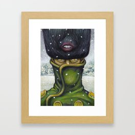 It was a cold winter... Framed Art Print