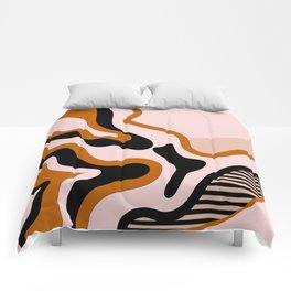 Beautiful Journey - Caramel and Cream Comforters