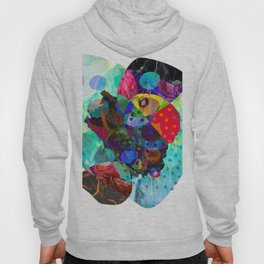 abstract alcohol ink art Hoody