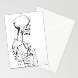 INK SKELETON Stationery Cards