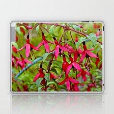 Pink Fuchsia Blossoms Laptop & iPad Skin
