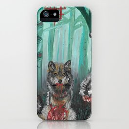 the trees saw everything iPhone Case