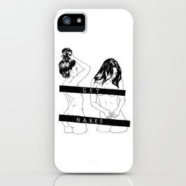 get naked iPhone Case