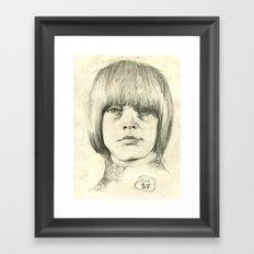Club 27, Brian Jones Framed Art Print