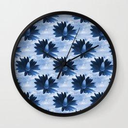 Deep in the dark blue sea... Wall Clock