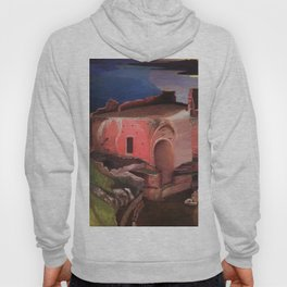 Valley of the Temples, Sicily Ruins of the Greek Amphitheater by Csontvary Kosztka Tivadar Hoody