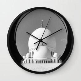 Abu Dhabi Mosque - United Arab Emirates Wall Clock