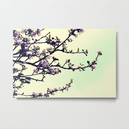 Love Blossoms Metal Print