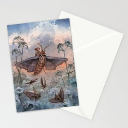 Noctuidae Stationery Cards