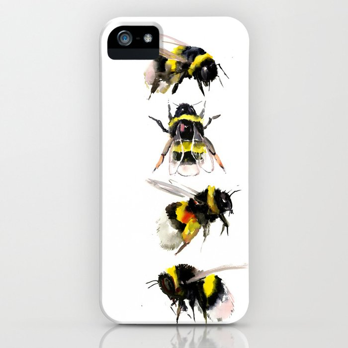 Bumblebee, Bee art, bee design, bees iPhone Case