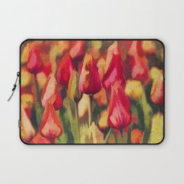 Colorful Tulips Laptop Sleeve