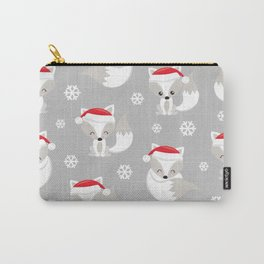 THE SPELL OF THE CHRISTMAS FOXES 2 Carry-All Pouch