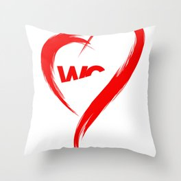 I love WG Throw Pillow