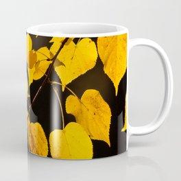 Autumn Foliage Yellow Leaves #decor #buyart #society6 Coffee Mug