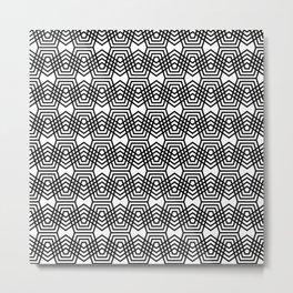 Op Art 169 Metal Print