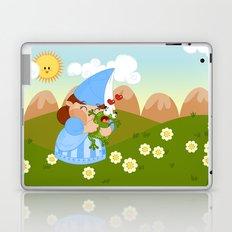 kissing the enchanted frog Laptop & iPad Skin