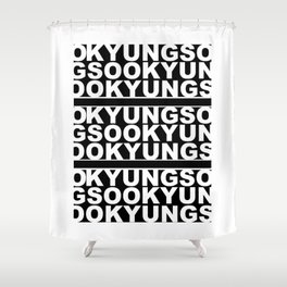 KYUNGSOO Shower Curtain