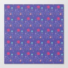 Lavender flourish Canvas Print