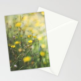 Dandelion flowers Stationery Cards