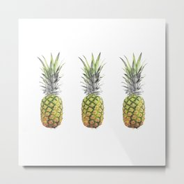 New pineapples Metal Print